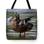 Happy Girl - Female Mallard Tote Bag