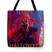 Happy Halloween Jack Tote Bag