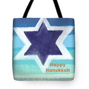 Happy Hanukkah Card Tote Bag