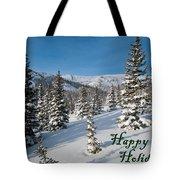 Happy Holidays - Winter Wonderland Tote Bag