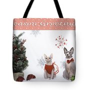 Happy Holidays 105 Tote Bag