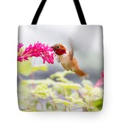 Happy Hummer Tote Bag