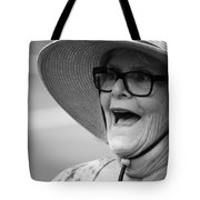 Happy Lady Tote Bag