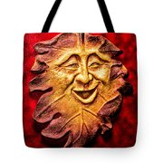 Happy Leaf Tote Bag
