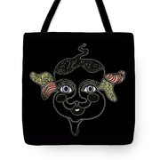 Happy Licorice Girl Tote Bag