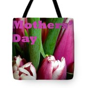Happy Mothers' Day Tulip Bunch Tote Bag