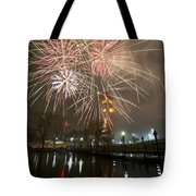 Happy New Year 2014 A Tote Bag