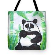 Happy Panda O.o. Tote Bag