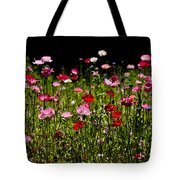 Happy Poppies Tote Bag
