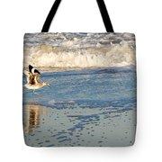Happy Shorebird Tote Bag