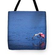 Happy Spoonbill Tote Bag