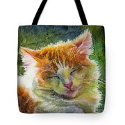 Happy Sunbathing 2 Tote Bag