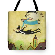 Happy Time Tote Bag