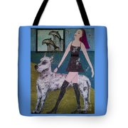 Happy Walk By Jasna Gopic Tote Bag