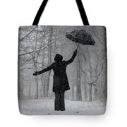 Happy Woman Tote Bag