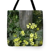 Happy Yellow Flowers Tote Bag