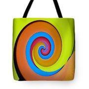 Happy Swirl Tote Bag