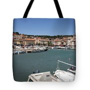 Harbor Cassis Tote Bag
