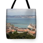 Harbor Entrance Marseille Tote Bag