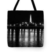 Harbor Lighthouse Tote Bag by James Barber