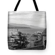 Harbor Lookout - Monte Carlo Tote Bag