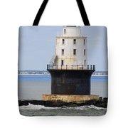 Harbor Of Refuge Light  Tote Bag