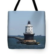 Harbor Of Refuge Lighthouse Tote Bag