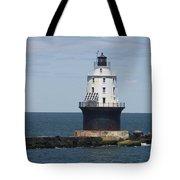 Harbor Of Refuge Lighthouse IIi Tote Bag