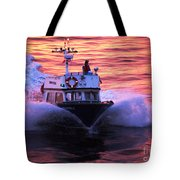 Harbor Pilot Tote Bag