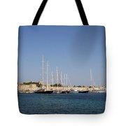 Harbor Rhodos City Tote Bag