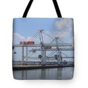 Harbor Rotterdam Tote Bag