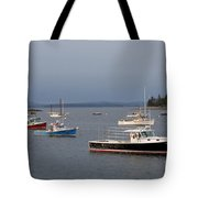 Harbor Scene I - Maine Tote Bag