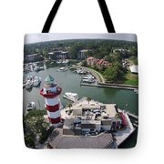 Harbor Town 1 In Hilton Head Tote Bag