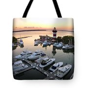 Harbor Town 5 In Hilton Head Tote Bag