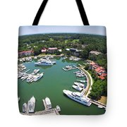 Harbor Town 6 In Hilton Head Tote Bag