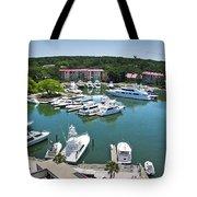 Harbor Town 7 In Hilton Head Tote Bag