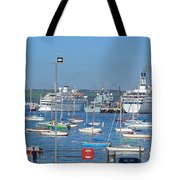 Harbour And Queen's Wharf - Falmouth Tote Bag