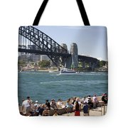 Harbour Bridge Tote Bag
