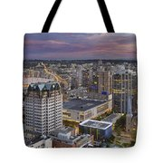 Harbour Center Lookout Vancouver Bc Tote Bag