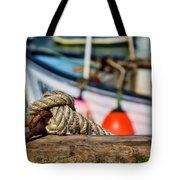 Harbour Knots Tote Bag