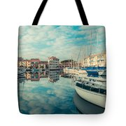 Harbour Of Grado Tote Bag
