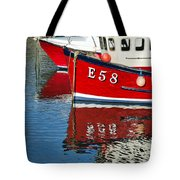 Harbour Reds Tote Bag