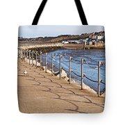 Harbour Wall Promenade Tote Bag