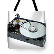Hard Drive Firewall Tote Bag
