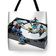 Hard Drive Maintenance Tote Bag