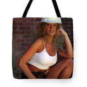 Hard Hat Tote Bag