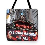 Hard Rock Cafe New York Tote Bag