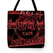 Hard Rock Cafe Nola Tote Bag