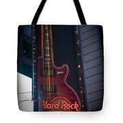 Hard Rock Guitar Nyc Tote Bag
