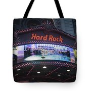 Hard Rock Marquee Nyc Tote Bag